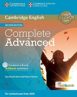 COMPLETE CAE 2ED SB/CD ROM/TESTBANK