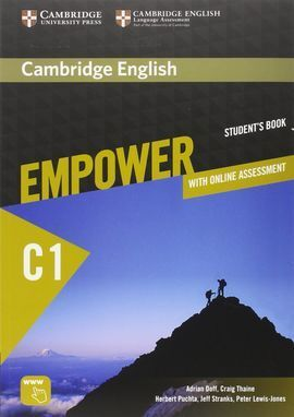 CAMBRIDGE ENGLISH EMPOWER ADVANCED C1 STUDENT'S BOOK WITH ONLINE ASSESSMENT AND PRA