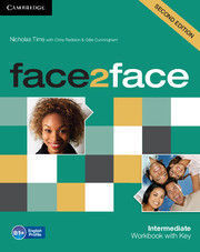 FACE 2 FACE INTERMEDIATE WORKBOOK WITH KEY 2ND EDITION 2013