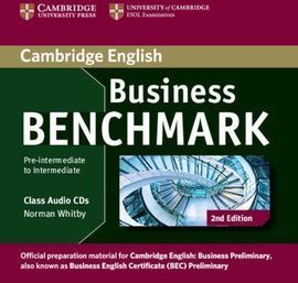 BUSINESS BENCHMARK PRE-INTERMEDIATE TO INTERMEDIATE BUSINESS PRELIMINARY CLASS A