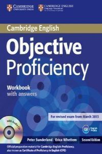 OBJECTIVE PROFICIENCY WORKBOOK WITH ANSWERS + AUDIO CD