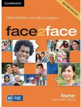 FACE 2 FACE STARTER CLASS AUDIO CDS (3) 2ND EDITION
