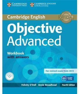 OBJECTIVE ADVANCED WORKBOOK WITH ANSWERS WITH AUDIO CD 4TH EDITION