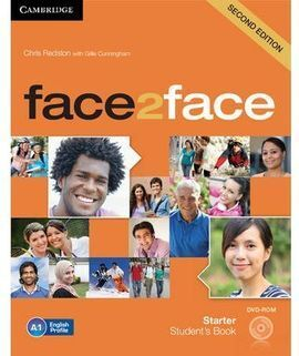 FACE 2 FACE STARTER STUDENT'S BOOK WITH DVD-ROM SECOND EDITION