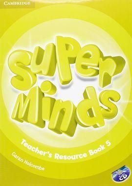 SUPER MINDS 5 TEACHER'S RESOURCE BOOK & CD