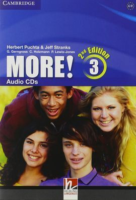 MORE! LEVEL 3 AUDIO CDS (3) 2ND EDITION