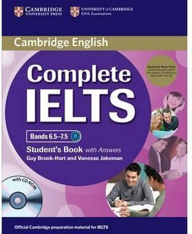 COMPLETE IELTS BANDS 6.5-7.5 STUDENT'S PACK (STUDENT'S BOOK WITH ANSWERS WITH CD