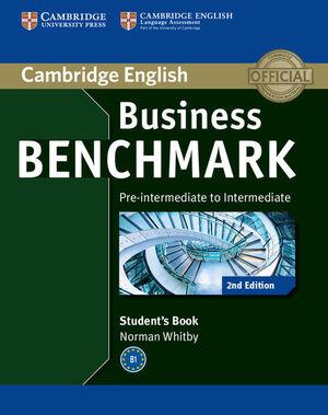 BUSINESS BENCHMARK PRE-INTERMEDIATE TO INTERMEDIATE BULATS STUDENT'S BOOK (2ND E