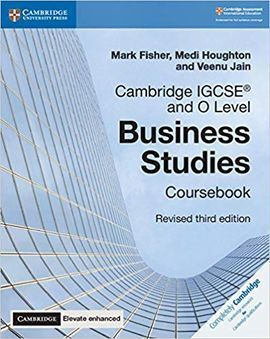 CAMBRIDGE IGCSE AND O LEVEL BUSINESS STUDIES COURSEBOOK + CAMBRIDGE ELEVATE ENHA