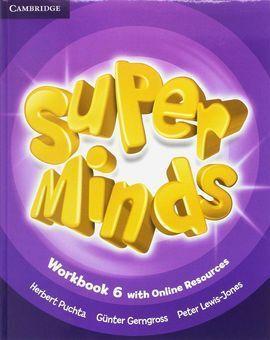 SUPER MINDS LEVEL 6 WORKBOOK PACK WITH GRAMMAR BOOKLET