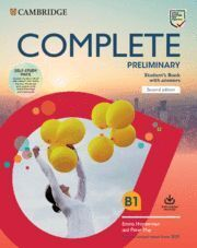 COMPLETE PRELIMINARY SECOND EDITION. SELF STUDY PACK (SB W ANSWERS W ONLINE PRAC