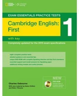 CAMBRIDGE ENGLISH: FIRST (FCE) 1. BOOK WITH KEY + MULTI-ROM