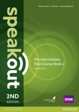SPEAKOUT PRE-INTERMEDIATE 2ND EDITION FLEXI COURSEBOOK 2 PACK