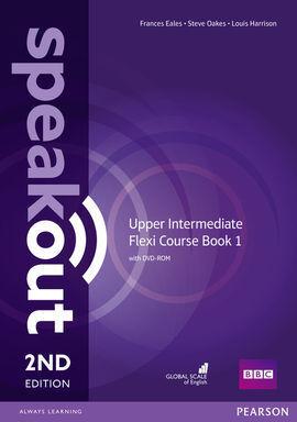 SPEAKOUT UPPER INTERMEDIATE 2ND EDITION FLEXI COURSEBOOK 1 PACK