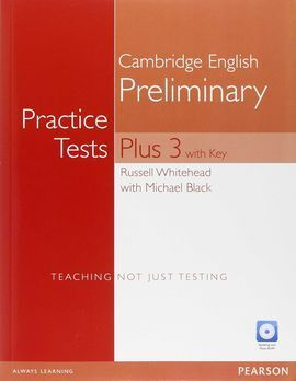 PRACTICE TESTS PLUS PET 3 WITH KEY AND MULTI-ROM/AUDIO CD PACK