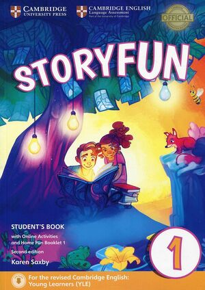 STORYFUN FOR STARTERS LEVEL 1 STUDENT'S BOOK WITH ONLINE ACTIVITIES AND HOME FUN