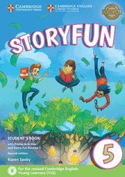STORYFUN FOR FLYERS 5 STUDENT'S BOOK WITH ONLINE ACTIVITIES AND HOME FUN BOOKLET