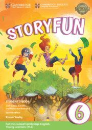 STORYFUN FOR FLYERS 6 STUDENT'S BOOK WITH ONLINE ACTIVITIES AND HOME FUN BOOKLET