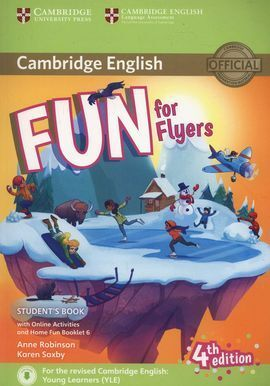 FUN FON FLYERS STUDENT´S WITH HOME FUN ONLINE ACTIVITIES