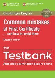COMMON MISTAKES FCE PB/TESTBANK