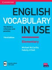 ENGLISH VOCABULARY IN USE.  ELEMENTARY THIRD EDITION. BOOK WITH ANSWERS AND ENHA
