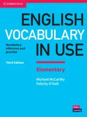 NEW ENGLISH VOCABULARY IN USE ELEMENTARY 3TH EDITION