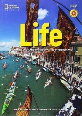 LIFE PRE-INTER COMBO A+APP+CD 2E