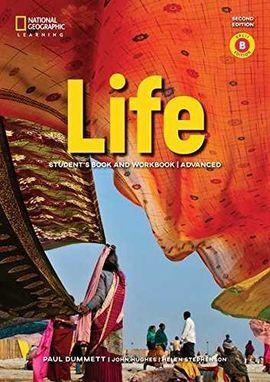 LIFE ADVANCED COMBO B+APP+ AUDIO CD 2E