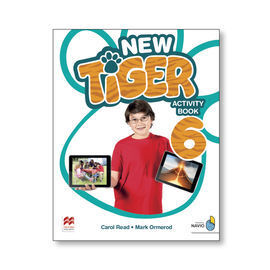 NEW TIGER 6 ACTIVITY BOOK PACK 6º PRIMARIA