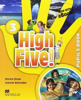 HIGH FIVE! ENGLISH 3ºPRIMARIA. PUPIL'S BOOK +EBOOK PACK