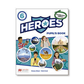 HEROES 6 PUPIL'S BOOK. ANDALUSIAN 2019