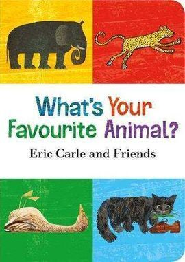 WHAT'S IS YOUR FAVORITE ANIMAL?