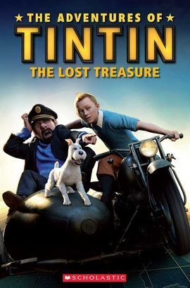 TINTIN 3: THE LOST TREASURE (BOOK + CD)