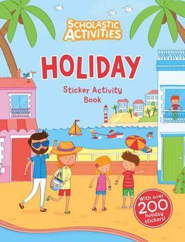 THE HOLIDAY STICKER ACTIVITY BOOK(200+ STICKERS)