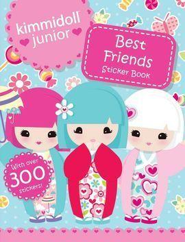 KIMMIDOLLS BEST FRIENDS STICKER BOOK (300+ STICKERS)