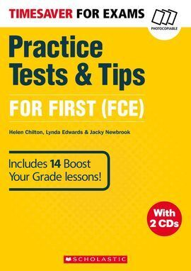 TIMESAVER FOR EXAMS PRACICE TESTS & TIPS FOR FCE 1 2 CD