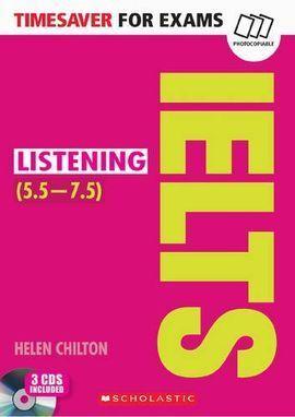 TIMESAVER FOR EXAMS:IELTS LISTENING(+CD)