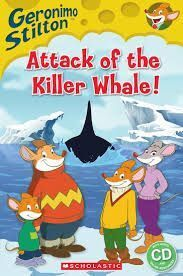 ATTACK OF THE KILLER WHALE! (+CD). LEVEL 2
