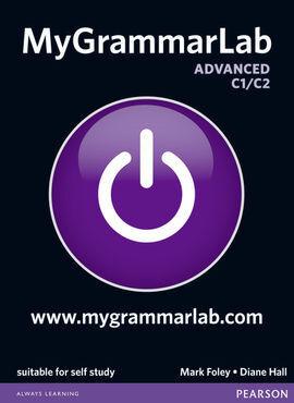 MYGRAMMARLAB ADVANCED WITHOUT KEY AND MYLAB 12 PAC