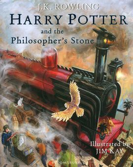 HARRY POTTER AND PHILOSOPHER STONE ILLUS