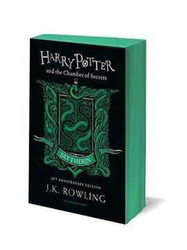 HARRY POTTER AND THE CHAMBER OF SECRETS. SLYTHERIN EDITION