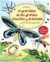 GRAN LIBRO DE GRANDES INSECTOS Y ARACNIDOS