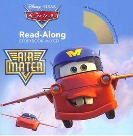 CARS TOONS AIR MATER READ-ALONG STORYBOOK AND CD