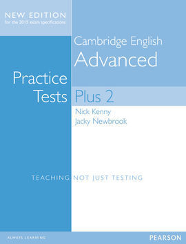 CAMBRIDGE ENGLISH: ADVANCED PRACTICE TESTS PLUS 2 (NEW EDITION) S