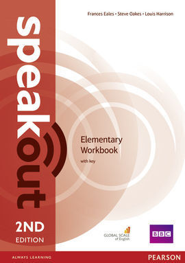 SPEAKOUT ELEMENTARY 2ND EDITION WORKBOOK WITH KEY