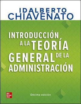 INTRO TEORIA GENERAL ADMINISTRACION LIBRO+CONNECT 12M