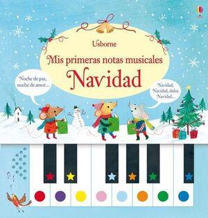 NAVIDAD. MIS PRIMERAS NOTAS MUSICALES
