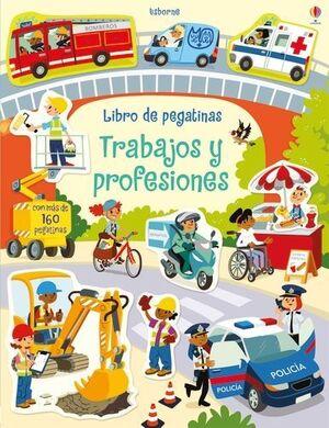 LIBRO DE PEGATINAS - LAS PROFESIONES