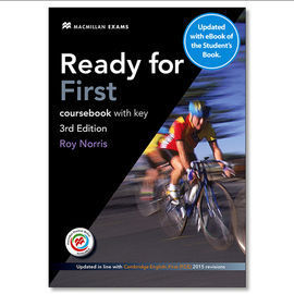 READY FOR FIRST STUDENT´S BOOK WITH ANSWER KEY + EBOOK (3RD EDITION)