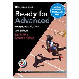 READY FOR ADV SB +KEY (EBOOK) PK 3RD ED